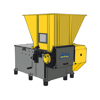F series single shaft shredder